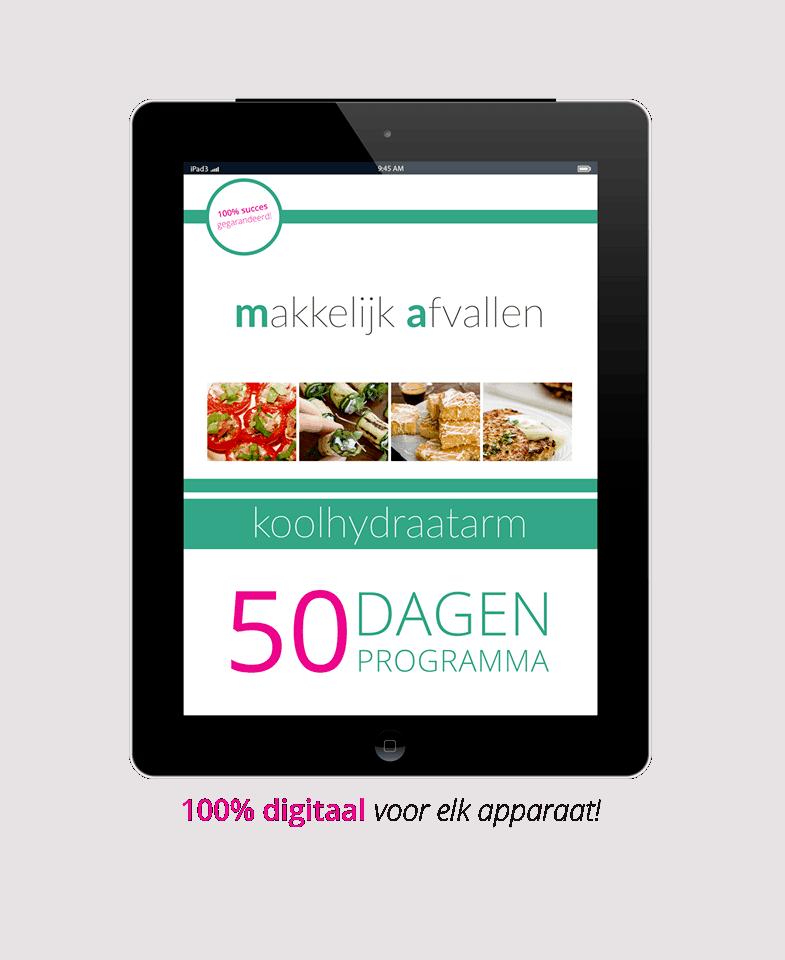 Koolhydraatarm 50 dagen Programma Download pdf