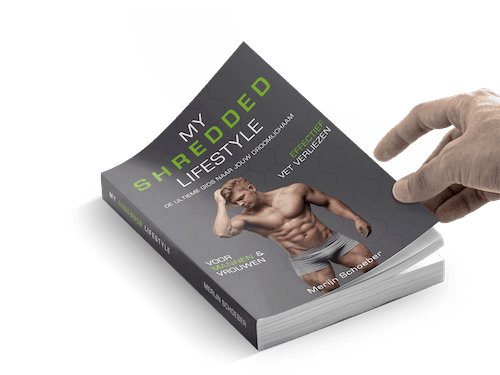 My Shredded Lifestyle boek kopen korting