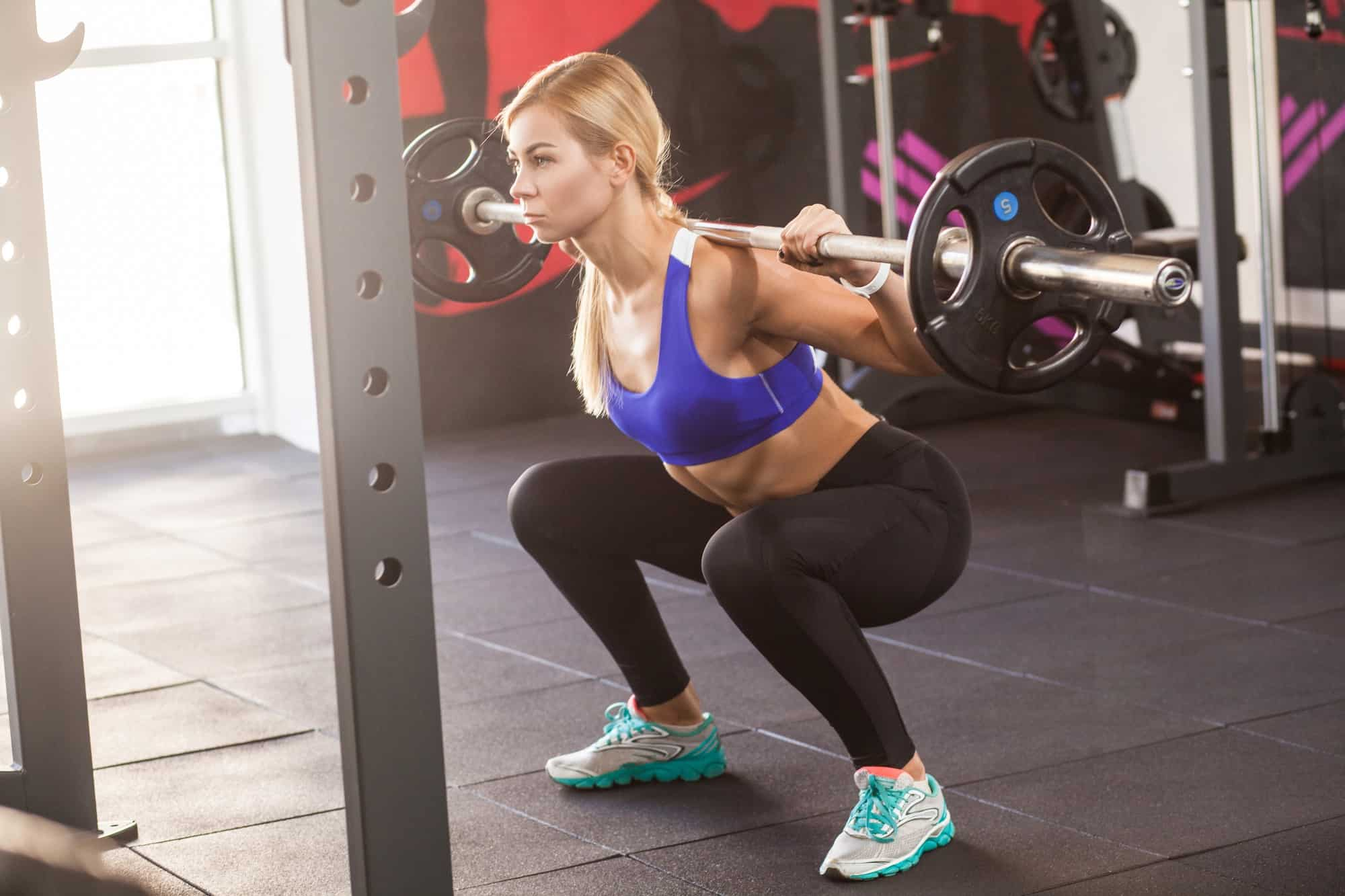 oefening fitness schema voor vrouwen spiermassa